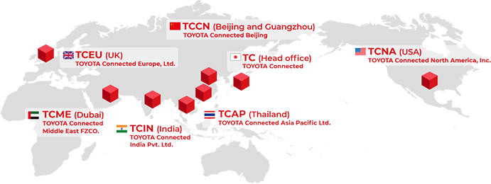 Global Network | Company | TOYOTA Connected
